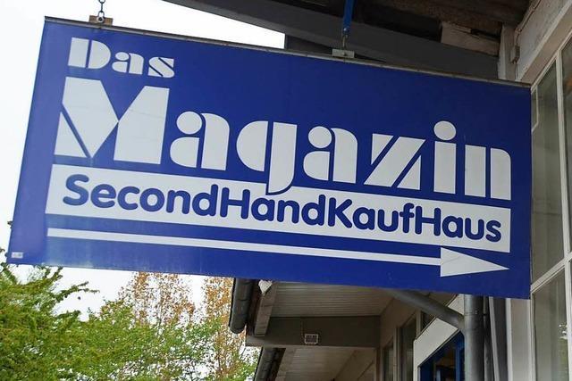 Second-Hand-Kaufhaus PVD gibt mehrere Arbeitsbereiche auf