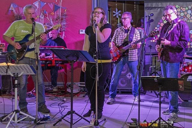 Mit der Band Stone Free in Birkendorf