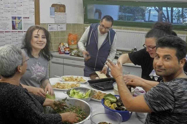 Begegnungen beim Kochen