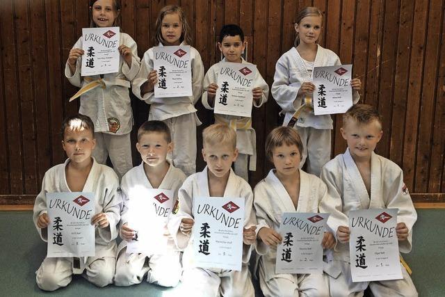 Judo-Nachwuchs holt Titel bei Meisterschaft