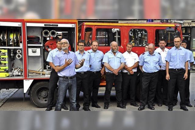 Feuerwehren Gresgen und Pfaffenberg mit neueren Fahrzeugen