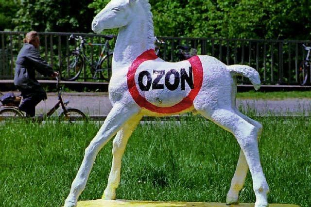 Höchste Ozonwerte im ganzen Land