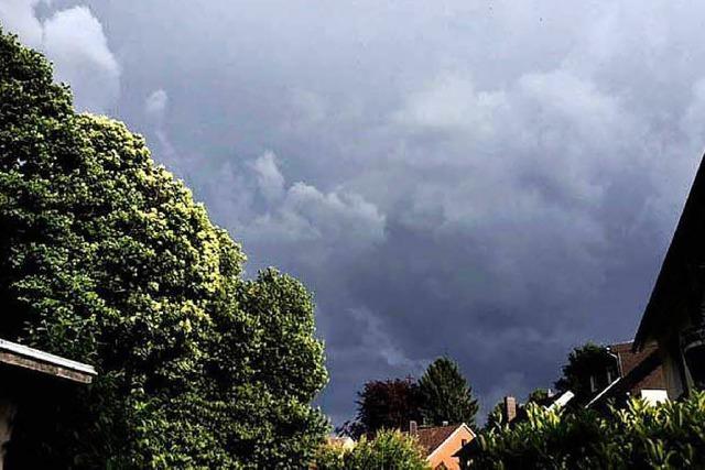 Wieder heftige Gewitter im Süden des Landes erwartet