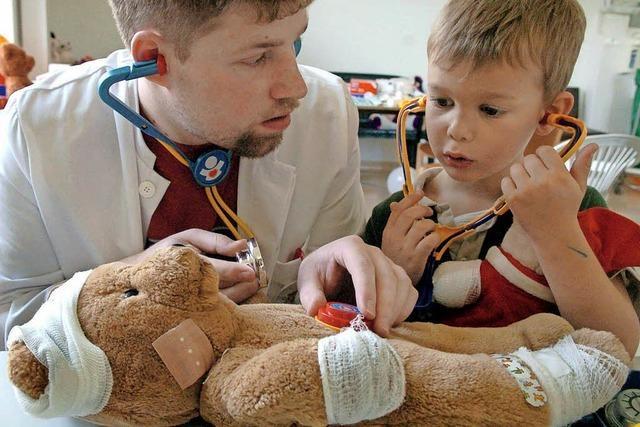 Teddybären-Krankenhaus in Freiburg