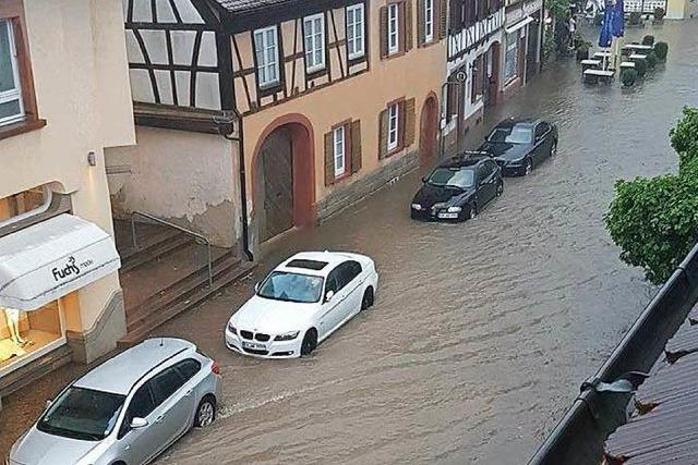Unwetter fegt über Endingen – Nähere Region wird verschont