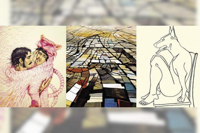 Drei junge Vertreter der georgischen Kunstszene
