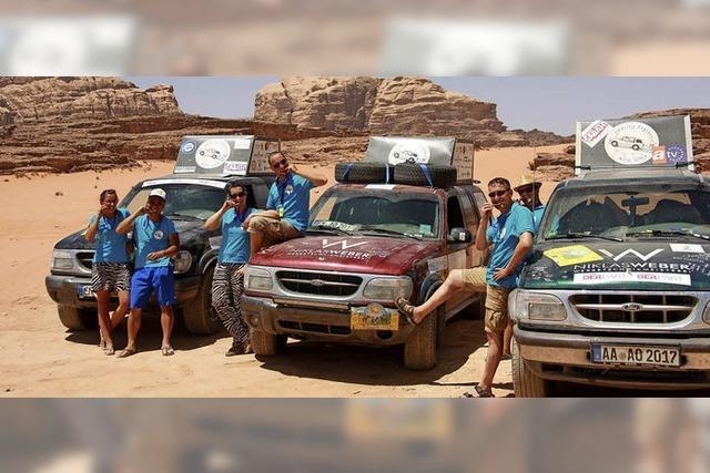 Im Team die Rallye geschafft