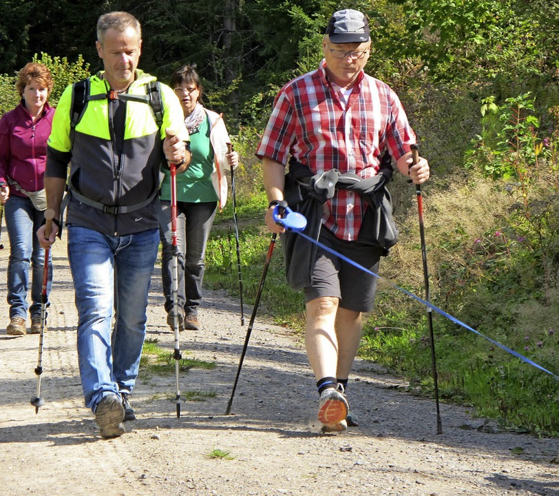 In Winden finden Wanderer jede Menge R...#8211; hier beim Volkswandertag 2015.   | Foto: Häringer