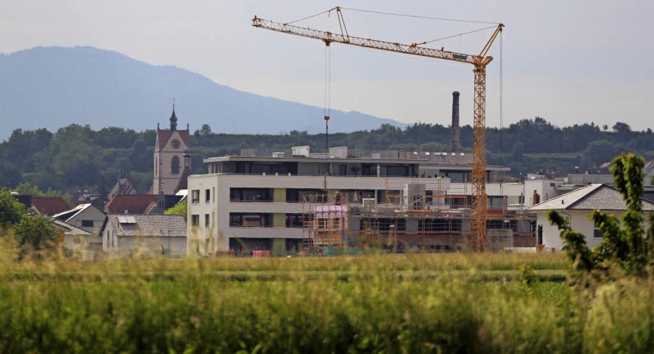 Viel gebaut wurde und wird in Endingen... bei der Ausweisung von neuem Bauland.  | Foto: Martin Wendel