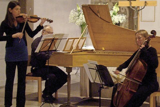 Ensemble Fraal im Heiligenzeller Schloss