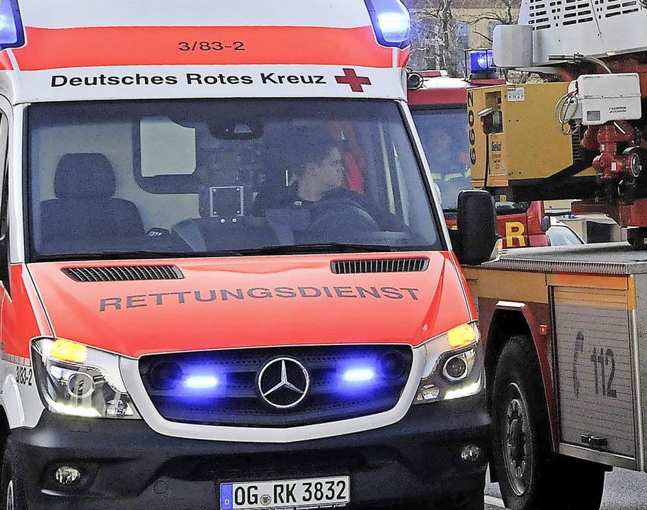 124 Einsätze hat das DRK Offenburg 201...neue Ortsvereinsärztin Jennifer Lang.     Foto: Helmut Seller / Karin Reimold
