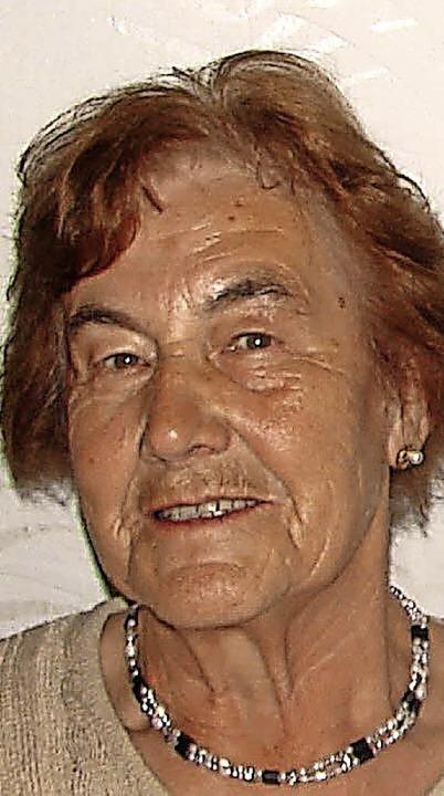 Luise Morath geb. Moser aus Unadingen ...erstag, 1. Juni, ihren 80. Geburtstag.  | Foto: Christa Maier