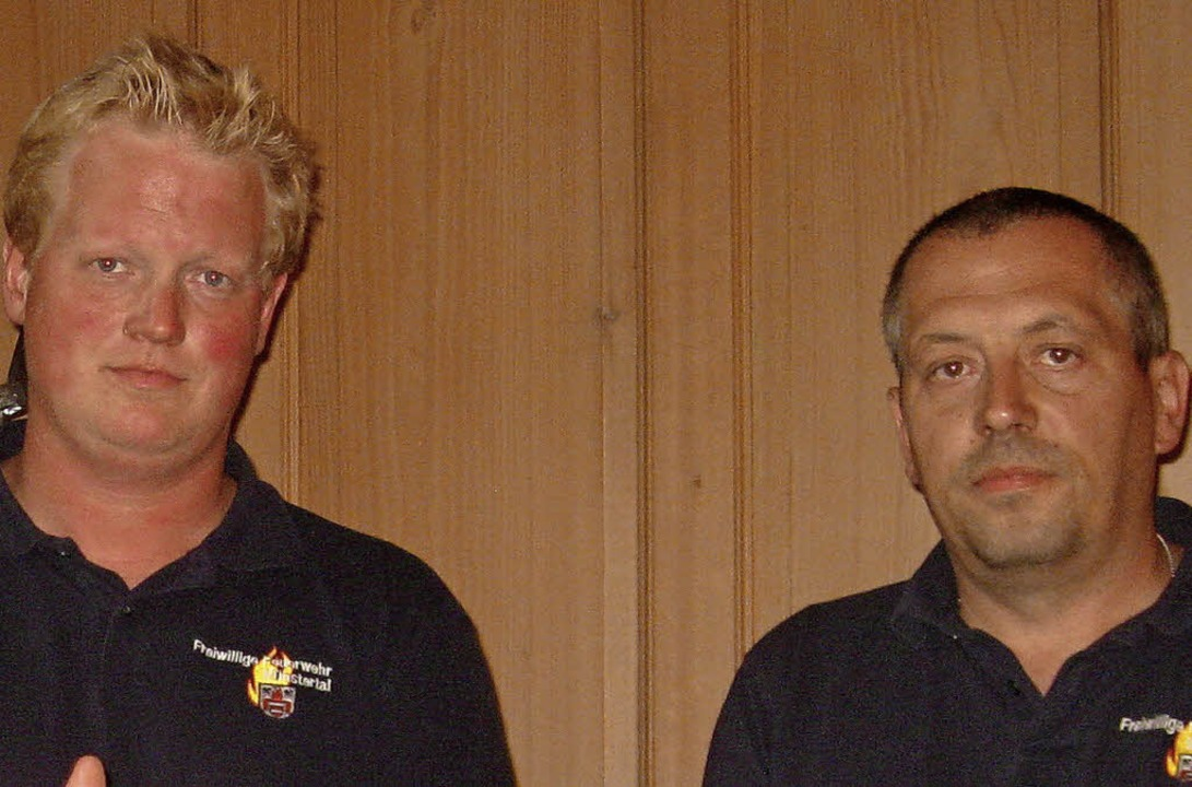 Matthias Riesterer (links) und Markus Steck   | Foto: Manfred Lange
