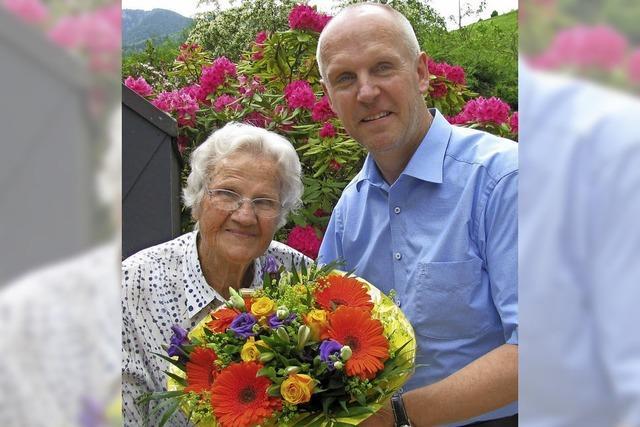 Gratulation zum 100. Geburtstag