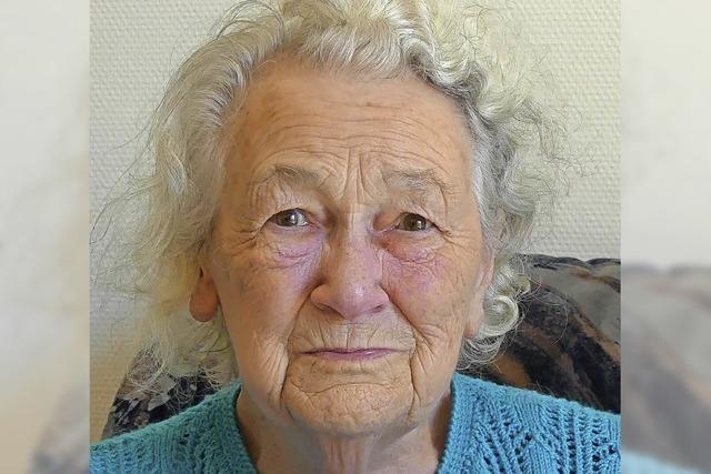 Angelina Benz wird 90 Jahre alt