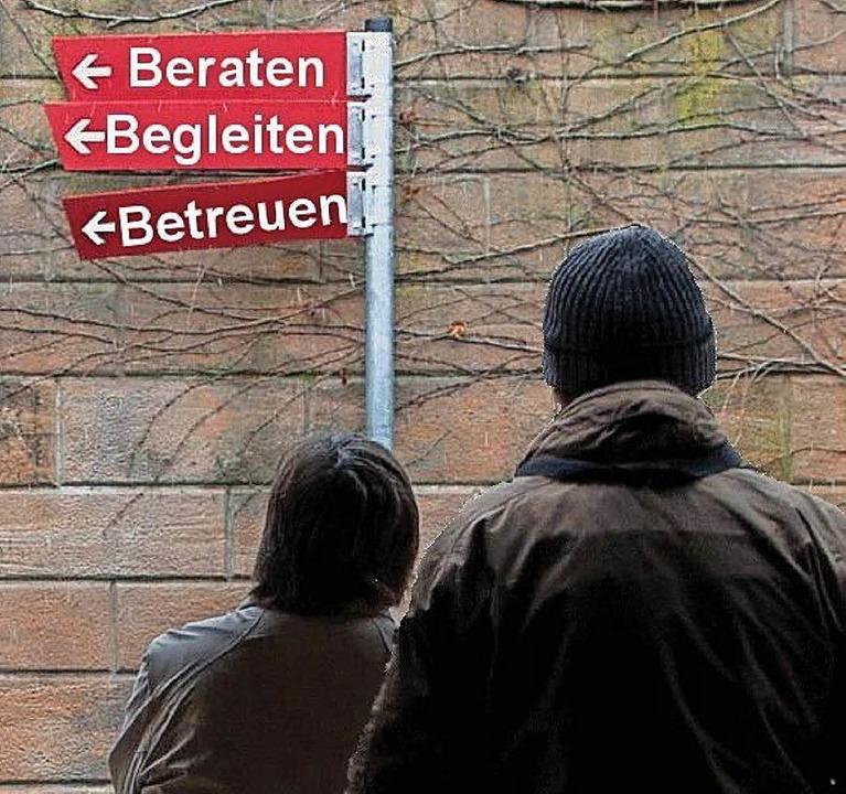 Ehrenamtliche Betreuer beraten und begleiten.   | Foto: zvg