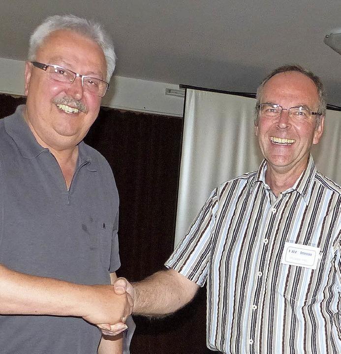 Franz-Josef Gieringer und Michael Mai   | Foto: df