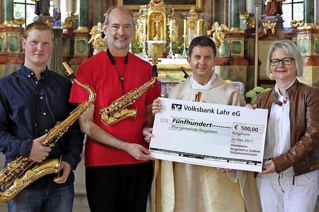 Geld fürs Kirchendach