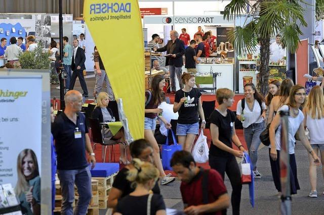 Freiburger Job-Start-Börse findet erstmals auf dem Messegelände statt