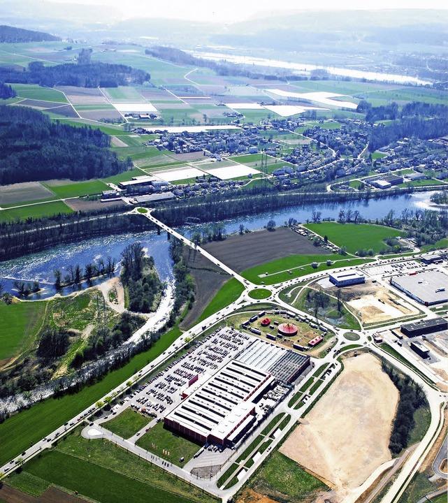 Als Standort für die neue Waldshuter R...m Gewerbepark Hochrhein im Gespräch.    | Foto: Archiv/Montage: Kristin Berndt