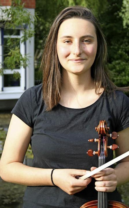 Muriel Amadea Müller aus St. Peter    Foto: Anja Kunz