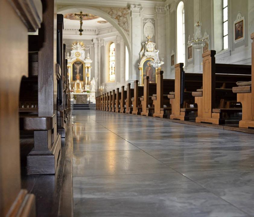 In jeder der sechs großen Kirchen auf ...ei Wochen eine Eucharistiefeier geben.  | Foto: Krug
