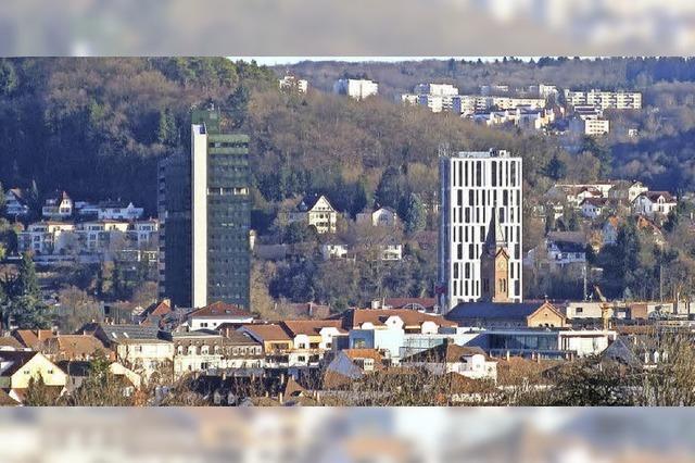 Panorama mit drei Türmen