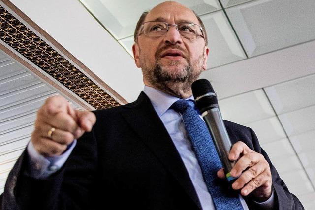 Kanzlerkandidat Martin Schulz genießt weiterhin Unterstützung in eigenen Reihen