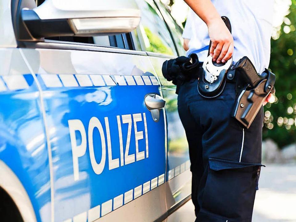 Die Polizei hat den Mann festgenommen.  | Foto: Dominic Rock