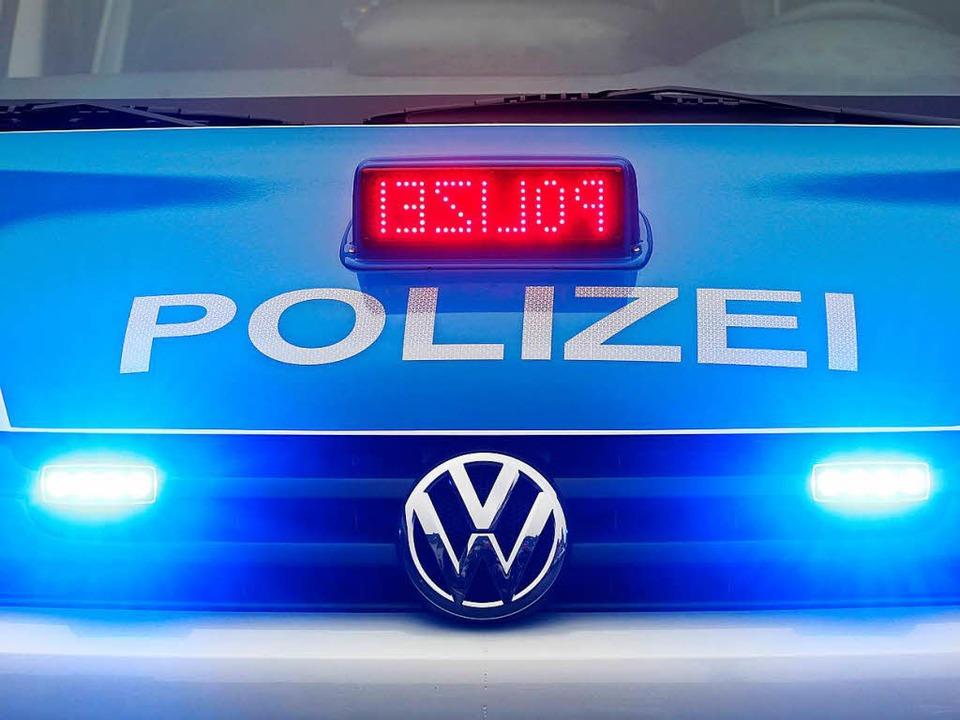 Die Polizei sucht nach dem Verursacher.  | Foto: Roland Weihrauch