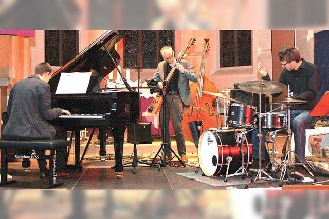 Das Georgii-Trio mit Sängerin Tine Wiechmann gastiert zum Lutherjahr in der Christuskirche in Rheinfelden