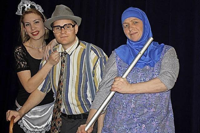Aufführung der Laienspieltgruppe Feldberg in Bad Bellingen