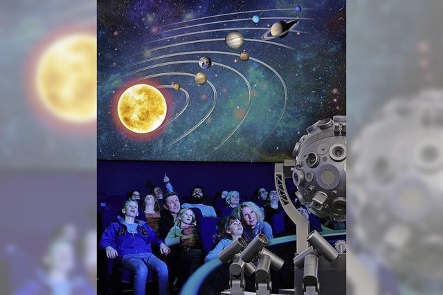 Das Planetarium Freiburg zeigt