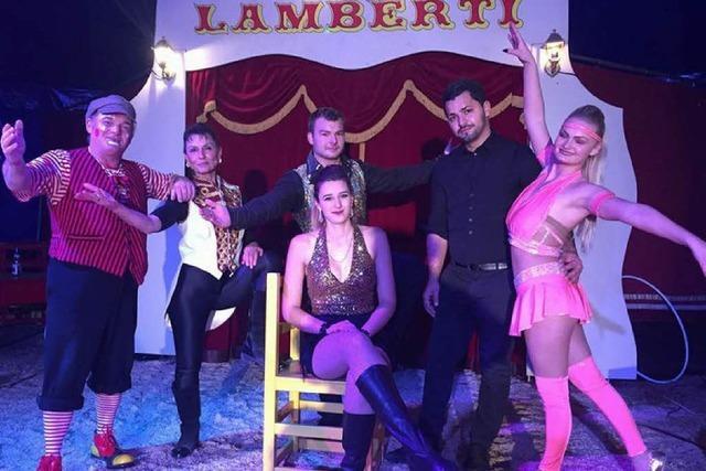 Spontane Hilfsaktion für Zirkus Lamberti nach Spielverbot in Hausen