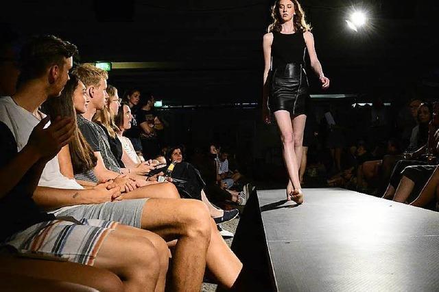 Fashion Show in der Mensa präsentierte faire Mode – ohne Öko-Klischees