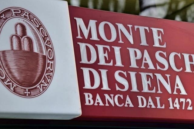 Italienischer Staat darf Krisenbank Monte dei Paschi di Siena stützen