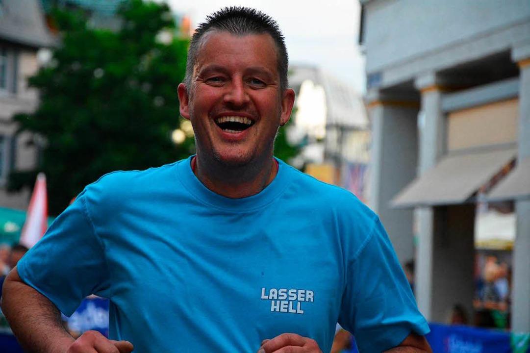 Haben Spaß beim Laufen: Thomas ...  | Foto: Barbara Ruda