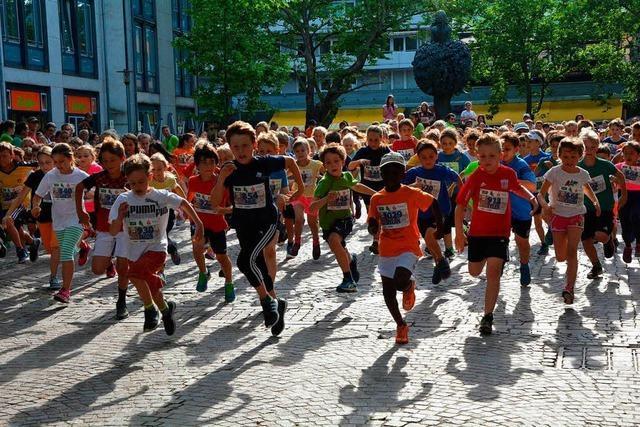 Lörracher Stadtlauf: Aus der Mühe wurde Spaß