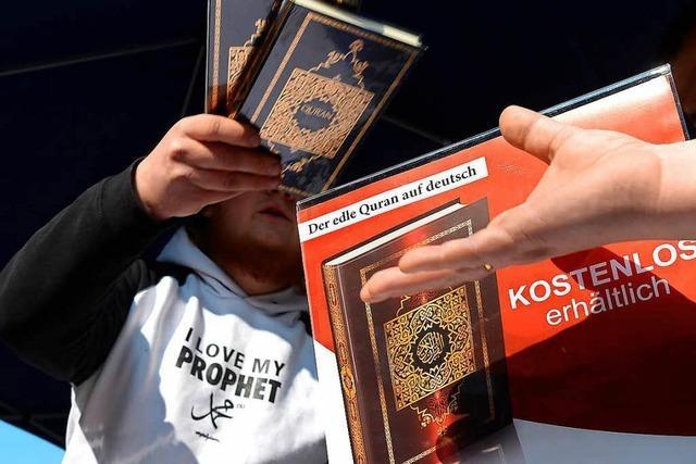 Verfassungsschutz: 3500 potenzielle islamistischen Gefährder