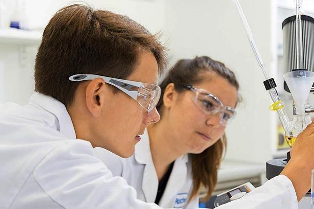 Wie Roche Schüler für Naturwissenschaften begeistert