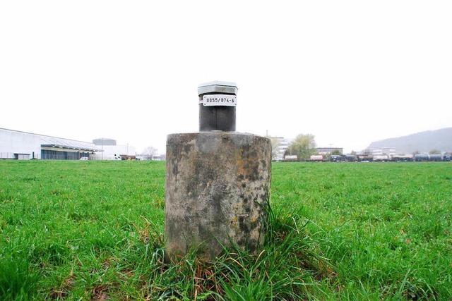 Grundwasserreinigung im Hirschacker abgeschaltet