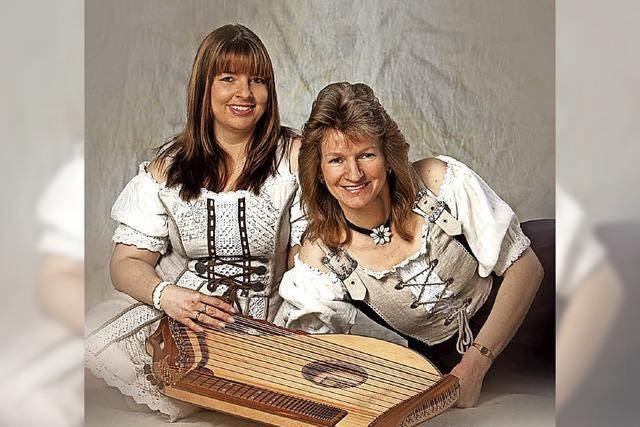 Mit Janine Diehr und Friedhilde Kaltenbrunn in Lenzkirch