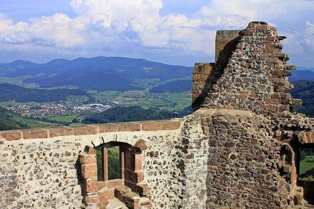 Führung auf der Burgruine Geroldseck in Seelbach