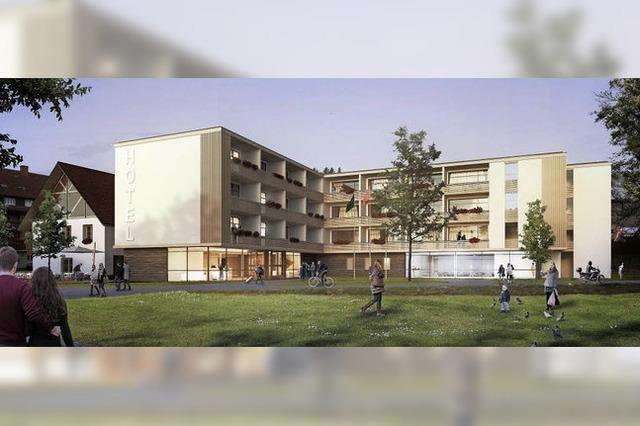 Hotel und Wohnen auf dem Bauhofareal