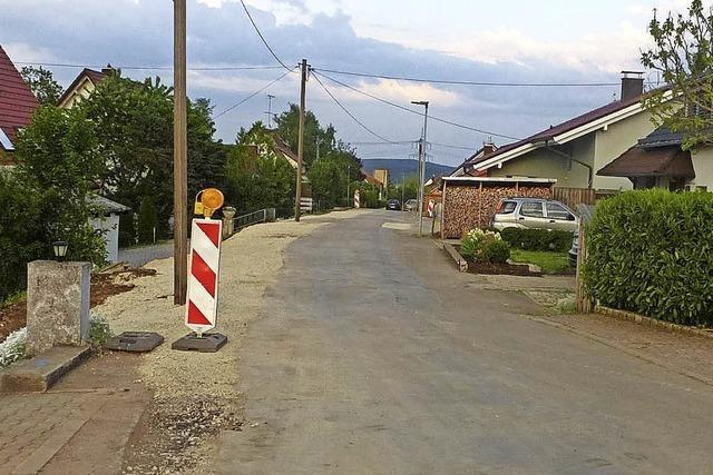Römerstraße wird breiter