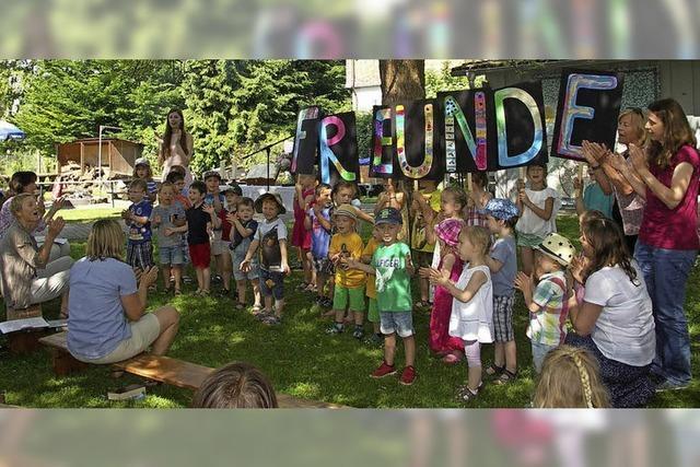 Gemeindefest und Gottesdienst im Grünen