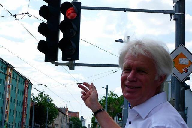 Neue Ampel soll der Tram den Weg frei machen