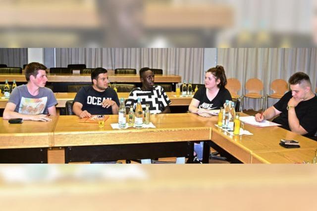 Frische Ideen fürs neue Jugendparlament