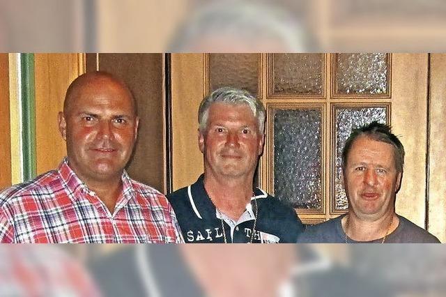 Gold für Joachim Ernst und Christian Kromer