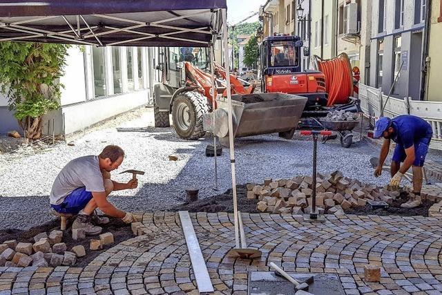 Südtiroler Steine zieren die Altstadt